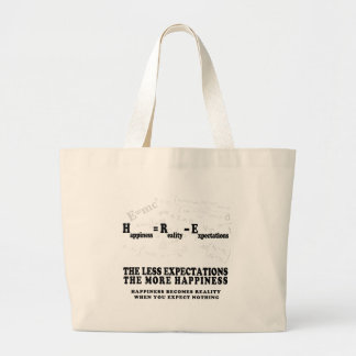 Holdalll - Happiness formulated Large Tote Bag