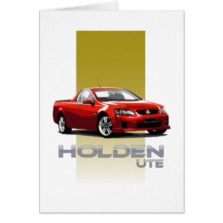 Holden Ute Card