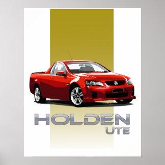 Holden Ute Poster