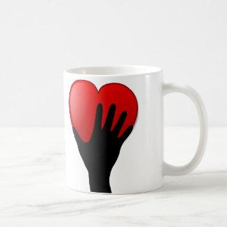 Holding A Heart Mug
