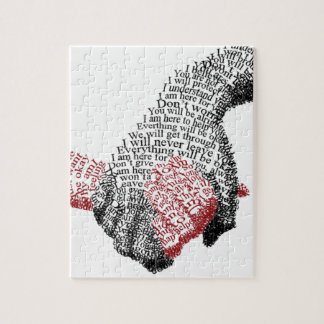 Holding Hands, Love conquers all Jigsaw Puzzle