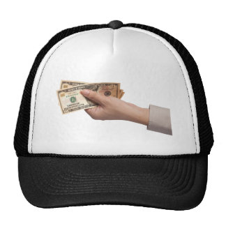 Holding money cap