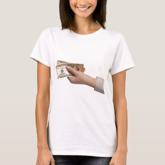 Holding money T-Shirt