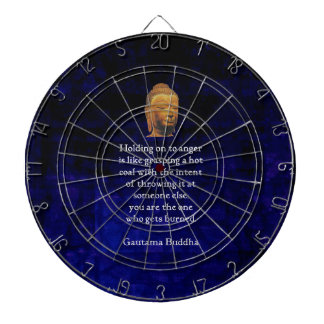 Holding On To Anger Inspirational Buddha Quote Dartboards