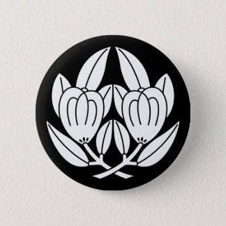 Holding orange 6 cm round badge