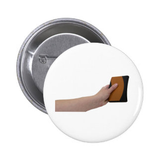 HoldingHardDrive072709 Pinback Buttons
