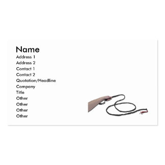 HoldingWhip103110, Name, Address 1, Address 2, ... Pack Of Standard Business Cards