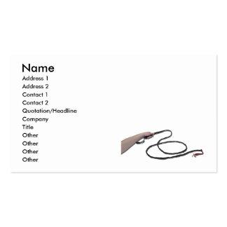 HoldingWhip103110, Name, Address 1, Address 2, ... Pack Of Standard Business Cards