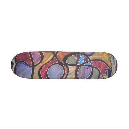 hole abstract- john bambino skateboards
