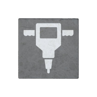 Hole Diggers Icon Stone Magnet