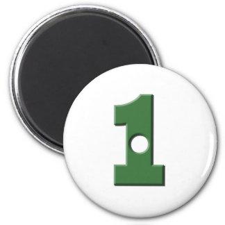 Hole in 1 6 cm round magnet