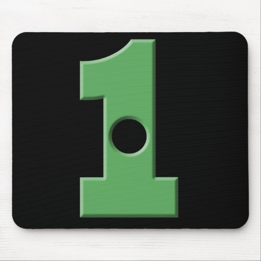 Hole in 1 mouse mat