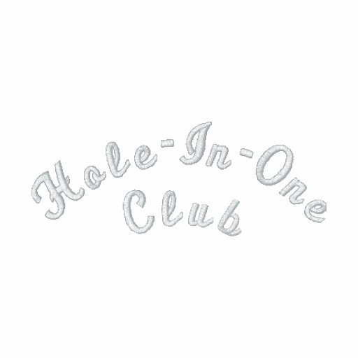 Hole-In-One Club Embroidered Polo Shirt