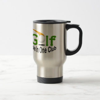 Hole In One Club Stainless Steel Travel Mug