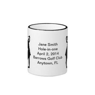 Hole-in-One Commemoration Mug Customizable