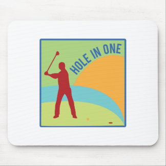 Hole in One Mouse Pads