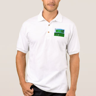 Hole in one shirt