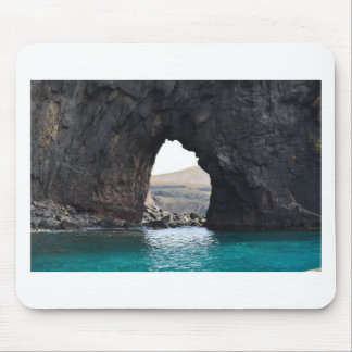 Hole in Rock in the Ocean Mouse Pad