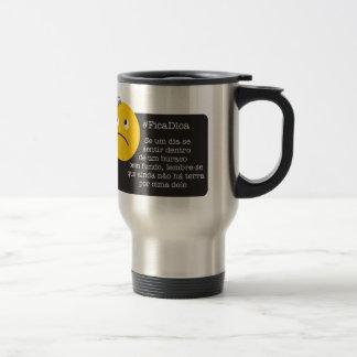 Hole without land mug