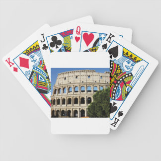 holes and arches bicycle playing cards