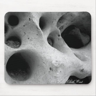 Holes in CHina Mouse Pad