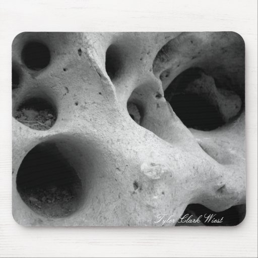 Holes in CHina Mouse Pads