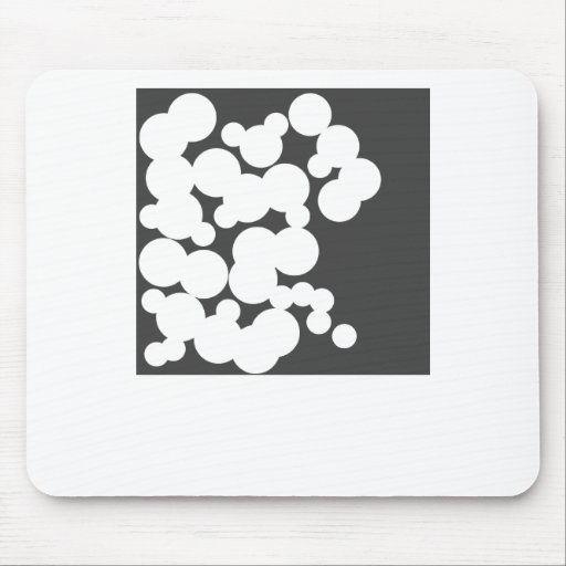 holes mouse pad