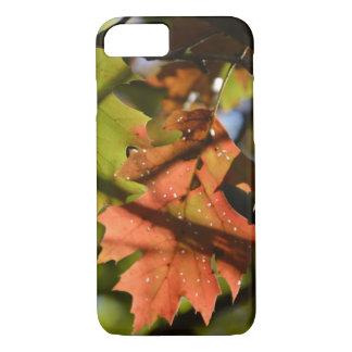 Holey Autumn Leaf iPhone 7 Case