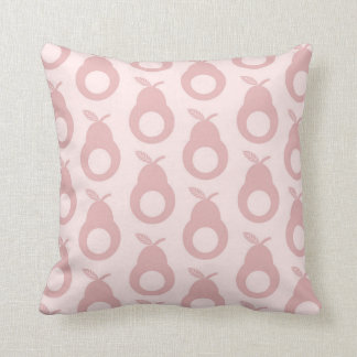 Holey Pears - Marshmellow Pink Cushion