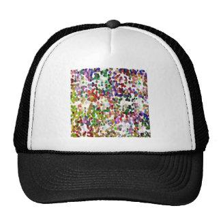 HOLI - Festival of Colors - Elegant MultiColor Dot Trucker Hat