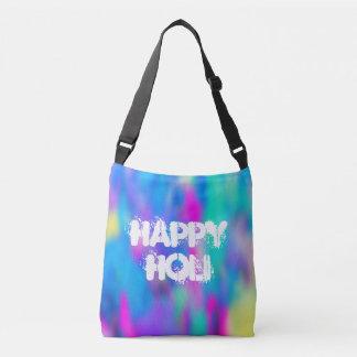HOLI Festival of Colors - splashes II + your ideas Crossbody Bag