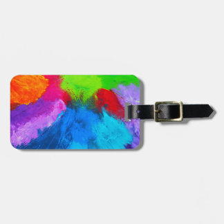 Holi Luggage Tag