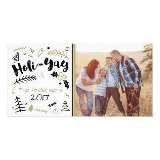 Holi-Yay Chirstmas Photo Card