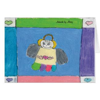 Holiday Angel Card