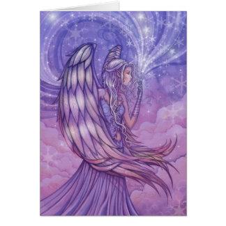 Holiday Angel Christmas Card