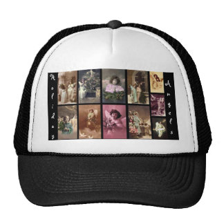 Holiday Angels Hat Customizable Hat