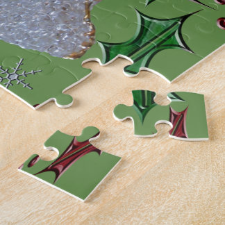 Holiday Angels Holly Jigsaw Puzzle
