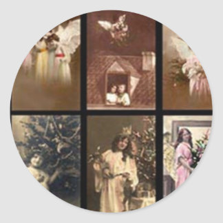 Holiday Angels I Customizable Sticker