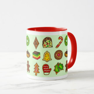 Holiday Baking Christmas Sugar Cookies Xmas Mug