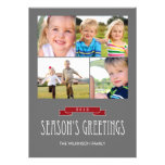 Holiday Banner Holiday Photo Card Personalized Invitations