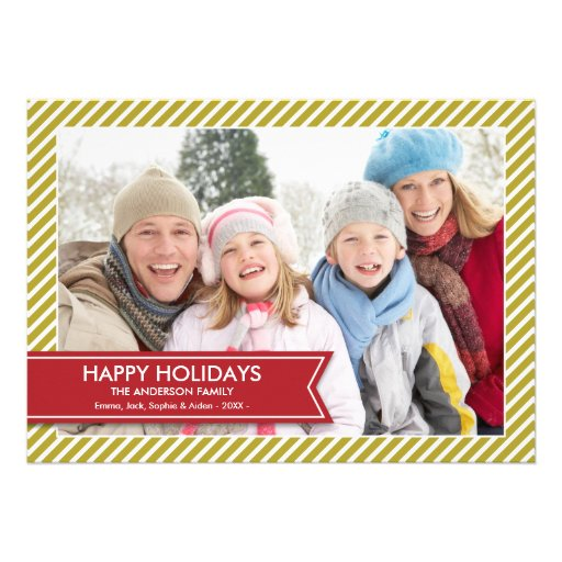 HOLIDAY BANNER | HOLIDAY PHOTO CARD CUSTOM INVITATION