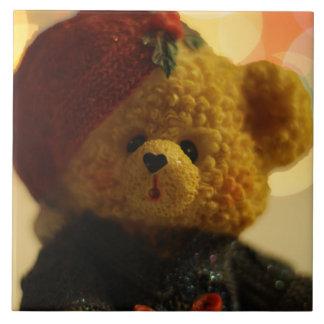 Holiday Bear #1 Ceramic Tile