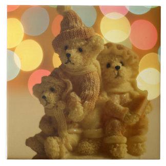 Holiday Bears Tile
