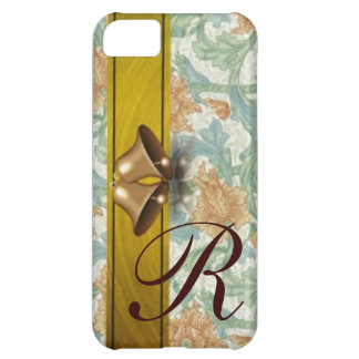 Holiday Bells monogrammed iPhone 5C Case