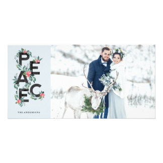 Holiday Berries Photo Card