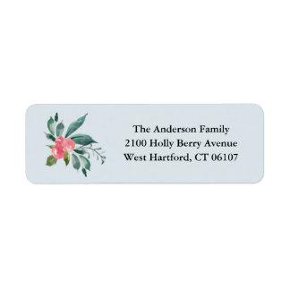 Holiday Berries Return Address Labels