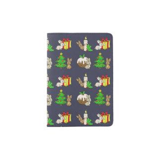 Holiday Bunnies Passport Holder
