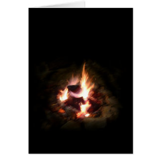 Holiday Campfire Note Card