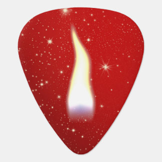 Holiday Candle Flame Plectrum