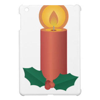 Holiday Candle iPad Mini Cases